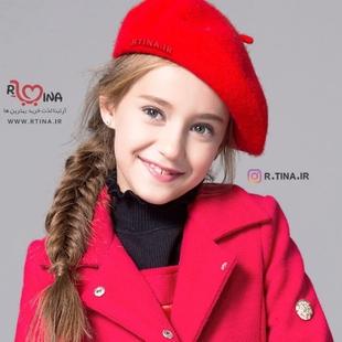 کلاه فرانسوی دخترانه ساده