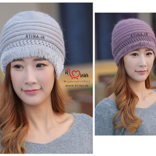 کلاه پشمی زمستانی زنانه