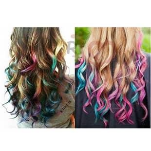 رنگ مو موقت دخترانه بنفش
