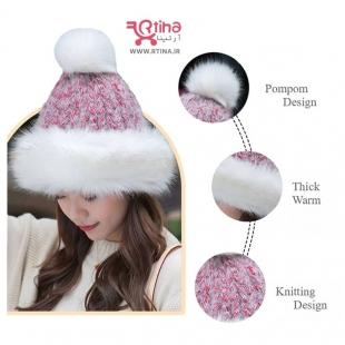 کلاه بافت پشمی زمستانی مدل B2