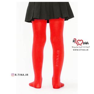 خرید جوراب شلواری قرمز
