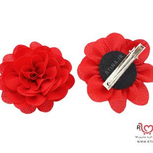 خرید گیره سر گل رز قرمز
