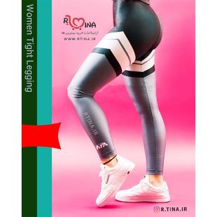 شلوار لگ براق ورزشی زنانه مدل آپا 2