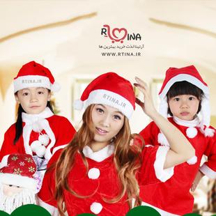 کلاه بابانوئل کریسمس مخصوص کودکان