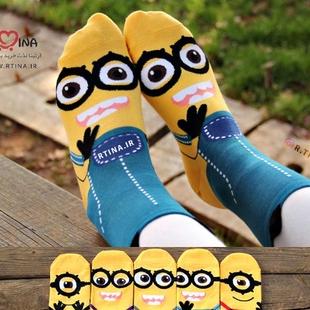 جوراب مدل پویانمایی Minions