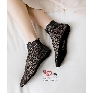 جوراب توری زنانه