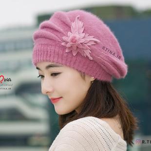 کلاه پشمی زمستانی زنانه مدل B3