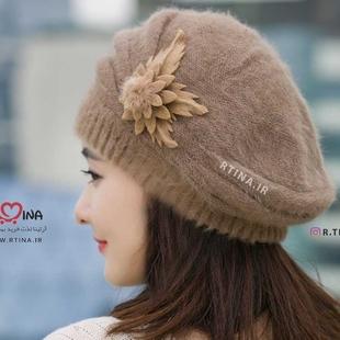 خرید کلاه بافت دخترانه