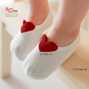 جوراب کودک قلبی