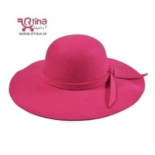 خرید کلاه زنانه صورتی جدید