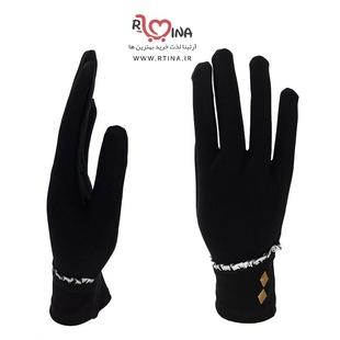 خرید دستکش پارچه ای سیاه گیلان