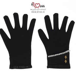 دستکش زنانه طرحدار کد s107
