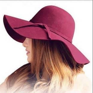 کلاه لبه دار شهرزادی طرح 1