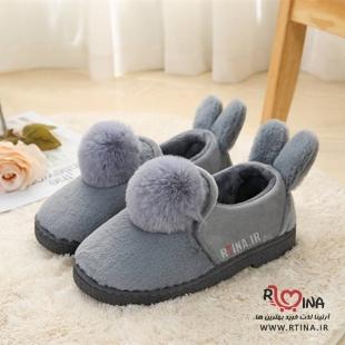 کفش راحتی خز دار