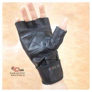 خرید آنلاین دستکش ورزشی تمام چرم مدل Lee Haney