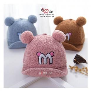 کلاه نقاب دار نوزادی زنگ دار مدل M
