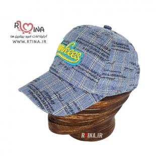 خرید کلاه تابستانی پسرانه آبی