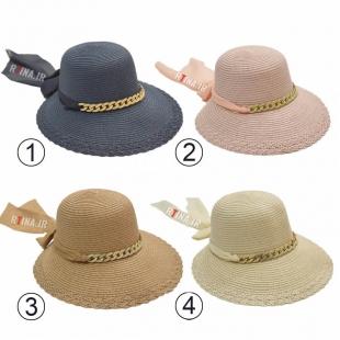 کلاه گرد لبه دار دخترانه مدل آویزدار