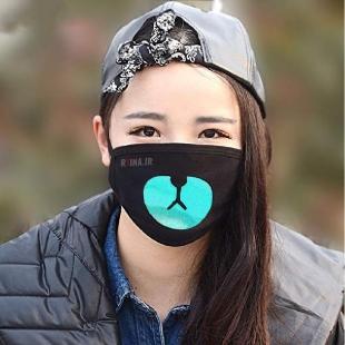 ماسک هلوگرامی خرسی آبی