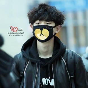 ماسک فانتزی طرح bear زرد