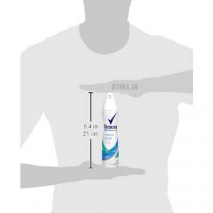 اسپری ضد تعریق رکسونا زنانه مدل shower clean