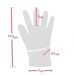 دستکش پارچه ای زنانه