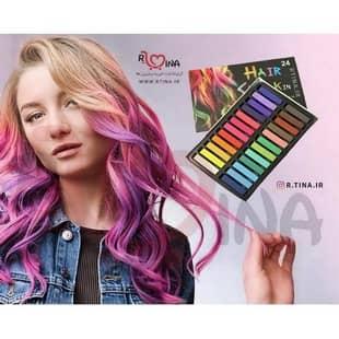 رنگ موی گچی موقت (گچ مو 24 رنگ)