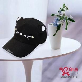 کلاه کپ دخترانه مشکی