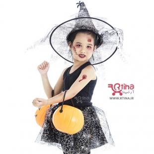 طرح تاتو موقت دخترانه فانتزی هالووین