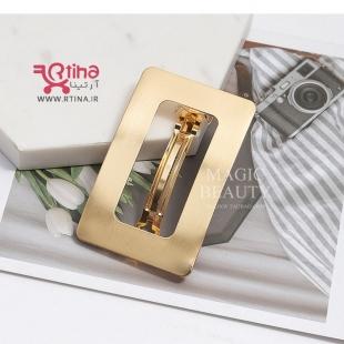کلیپس فلزی طلایی