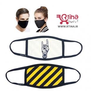 ماسک پارچه ای جدید طرح هاشور2