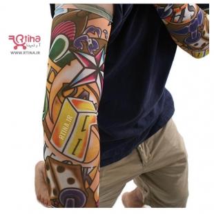 عکس ساق دست خالکوبی مردانه