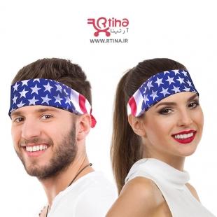 خرید باندانا پسرانه طرح آمریکا
