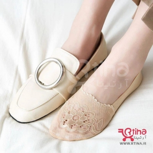 جوراب زنانه کالج گیپور مدل QUEEN