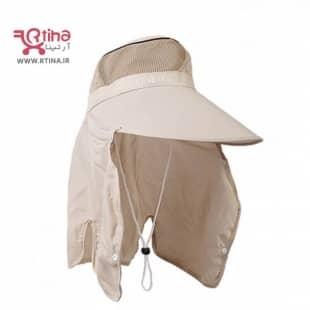 کلاه و نقاب تابستانی با محافظ گردن