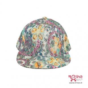 کلاه اسپرت دخترانه طرح دار خفن