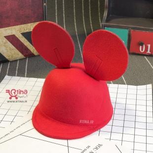 کلاه دخترانه بچه گانه قرمز