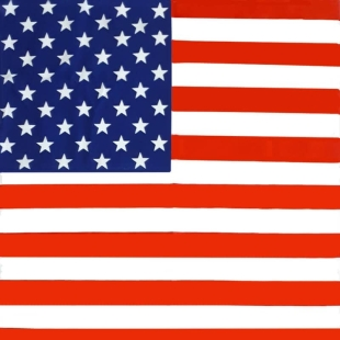 باندانا طرح پرچم آمریکا