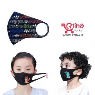ماسک کودک طرح آدیداس