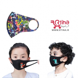 ماسک بچه گانه مدل lol