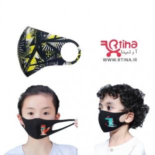 ماسک بچگانه طرح off white