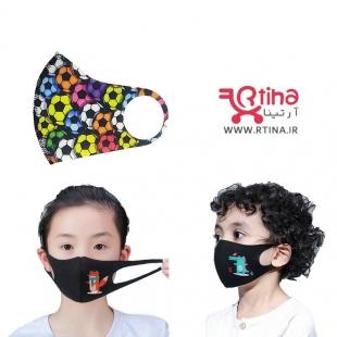 ماسک کودکانه طرح توپ