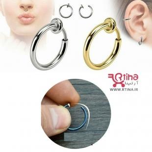 گوشواره مردانه حلقه ای