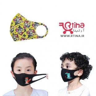 ماسک کودک مدل یونیکورن