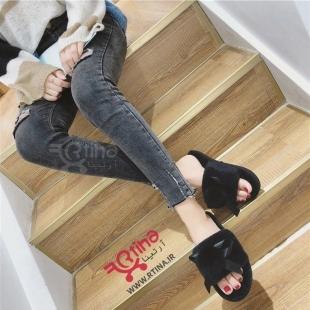 دمپایی راحتی دخترانه - زنانه مدل L12