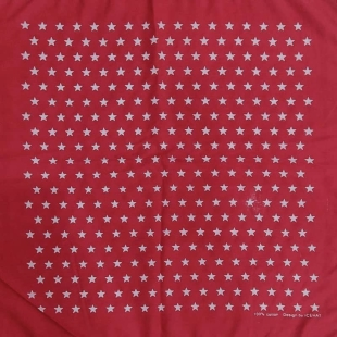 باندانا طرح ستاره قرمز