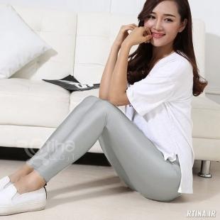 شلوار غواصی زنانه براق مدل کمر پهن LPF4