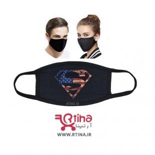 ماسک آلودگی تنفسی طرح دار مدل superman