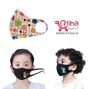 ماسک بهداشتی بچگانه دختر طرح جغد