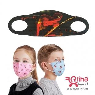 ماسک بچه گانه تنفسی طرح spiderman1